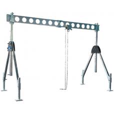 Hliníkový portálový Žeriav WHSPL- skladací