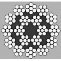 Oceľové lano viacpramenné HERKULES 18x7