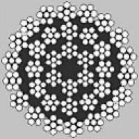 Oceľové lano viacpramenné HERKULES 36x7