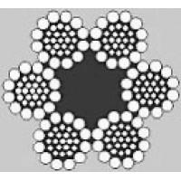 Oceľové lano šesťpramenné SEAL 6x31S +FC