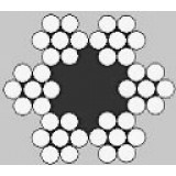Oceľ. lano Standard
