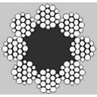 Oceľové lano osempramenné WARRINGTON 8x19W +FC