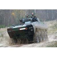 Snehové reťaze - armádne vozidlá