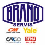 Revízie a opravy kladkostrojov-zdvíhacích zaradení Brano, Yale, CM, CMCO, REMA