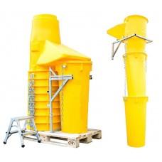 Sklz na stavebnú suť, stavebný odpad HG - Sada žltá