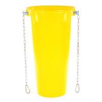 Sklz na stavebnú suť, stavebný odpad HG - Základný žltý