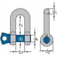 Vysokopevnostný strmeň HA-1 (skrutka s čapom)